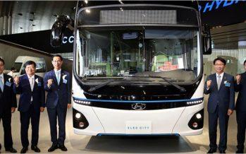 Hyundai Elec City รถบัสไฟฟ้ารุ่นจำหน่ายจริงเตรียมจำหน่ายในเกาหลีใต้