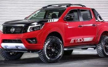 Nissan Frontier Attack Concept ต้นแบบแต่งลุยจากบราซิล