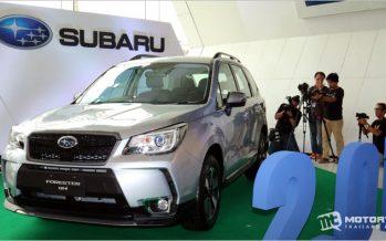 2017 Subaru Forester 2.0i-S รุ่นย่อยใหม่ พร้อมจำหน่ายในไทย