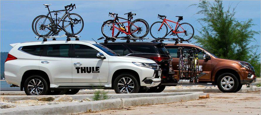 THULE Exclusive Trip ทดลองใช้ชุดจับจักรยานพร้อมปั่นกับธูเล่