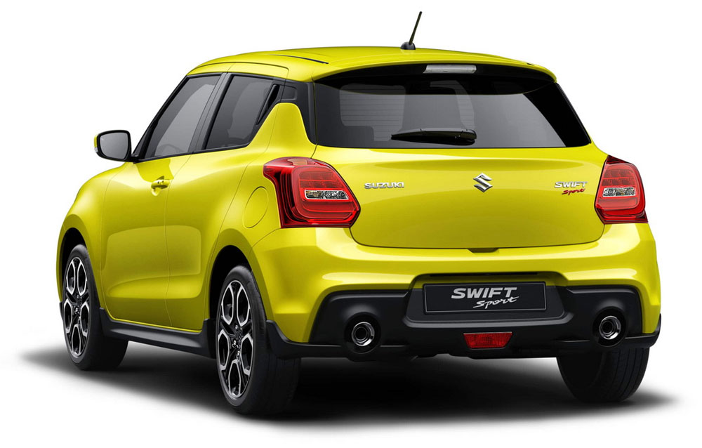 2018 suzuki swift sport motortrivia. Black Bedroom Furniture Sets. Home Design Ideas