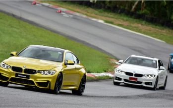 BMW 4 Series ทดลองขับซีรีส์ 4 ในสนามพีระเซอร์กิต