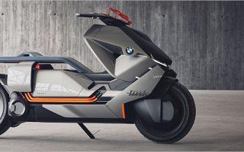 BMW Motorrad Concept Link ต้นแบบสกู๊ตเตอร์มลพิษศูนย์