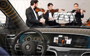 Continental เปิดตัวเทคโนโลยีฟังเพลงแบบไร้ลำโพงในรถยนต์
