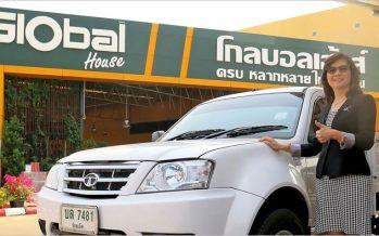 TATA ส่งมอบ Xenon Single Cab 40 คันให้ Global House