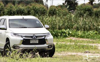 ทดลองขับ Mitsubishi Pajero Sport 4WD GT-Premium