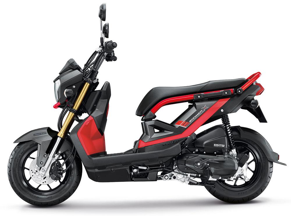 A.P.Honda เปิดตัว Zoomer-X และ Moove รุ่นปรับปรุงปี 2017