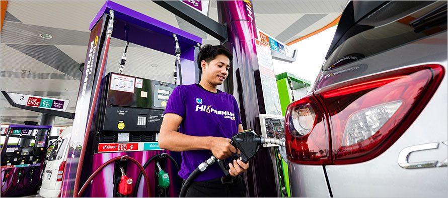Bangchak Hi Premium Diesel S ค่าซีเทนสูงสุด 70 มาตรฐาน Euro 5