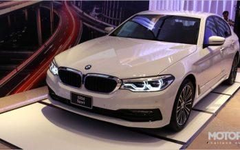 BMW เปิดตัว 520d Sport รุ่นประกอบในประเทศ และเตรียมเปิดบริการ ChargeNow