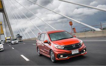 Honda Mobilio ใหม่ รถ MPV ขนาดย่อมสำหรับคนเมืองยุคใหม่