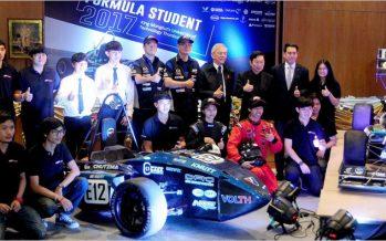 Mazda และ มจธ. เปิดตัวรถแข่ง Black Pearl IX: Ubiquitous