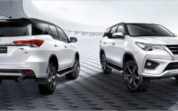 2017 Toyota Fortuner เพิ่มรุ่น 2.4V Σ4 ขับเคลื่อน 4 ล้อ