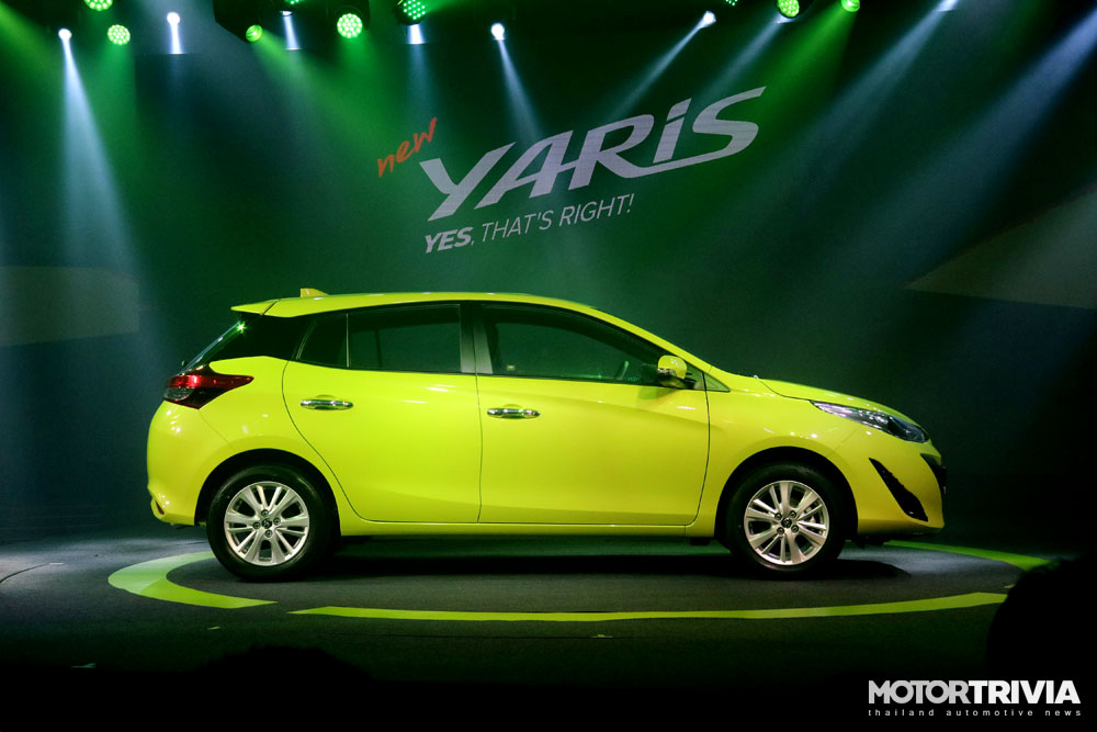 2017 toyota yaris hatchback motortrivia. Black Bedroom Furniture Sets. Home Design Ideas