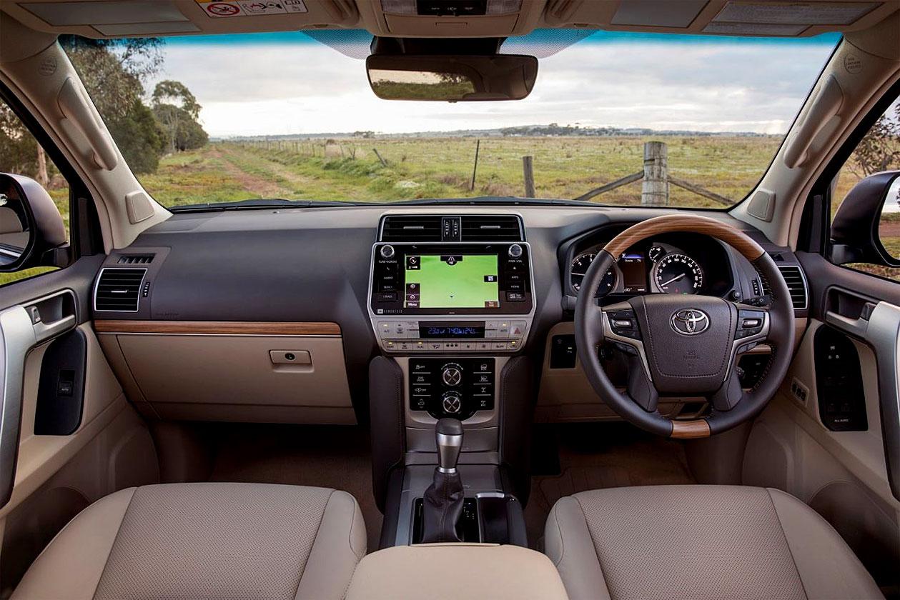 2018 Toyota Land Cruiser Prado ปรับโฉมใหม่ครั้งใหญ่ให้เจนฯ 4