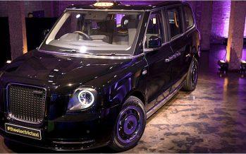 London Taxi เปิดตัว TX เวอร์ชั่นเยอรมันที่แฟรงค์เฟิร์ท 2017