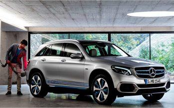 2017 Mercedes-Benz GLC F-Cell Concept ต้นแบบฟิวเซลล์ + ปลั๊ก-อิน ไฮบริด