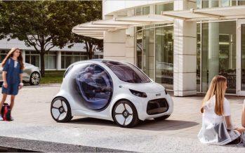 2017 Smart Vision EQ Concept โชว์แนวคิดระบบขับเคลื่อนอัตโนมัติ