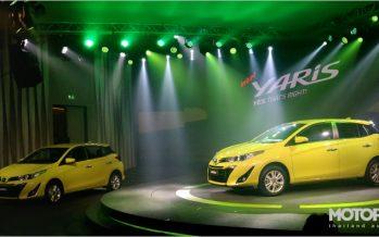 2017 Toyota Yaris Hatchback พร้อมทำตลาดรุ่นปรับโฉมในไทย
