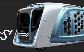2017 Isuzu FD-SI Concept ต้นแบบรถพาณิชย์แห่งอนาคต