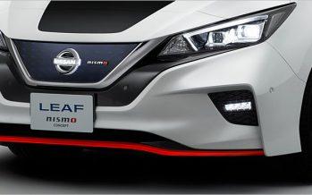 2017 Nissan Leaf Nismo Concept กรีนได้ก็หล่อได้เหมือนกัน