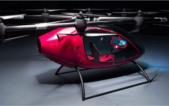 บริษัทหน้าใหม่ Passenger Drone เปิดตัวโดรนโดยสาร
