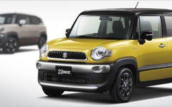 2017 Suzuki Xbee Concept ต้นแบบ 3 เวอร์ชั่นสำหรับโตเกียว