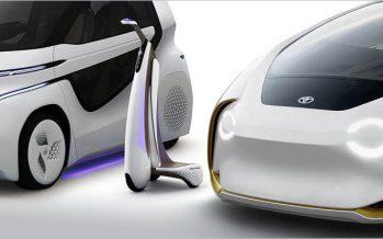 2017 Toyota Concept-i ซีรี่ส์พาหนะต้นแบบที่ขับเคลื่อนด้วย AI