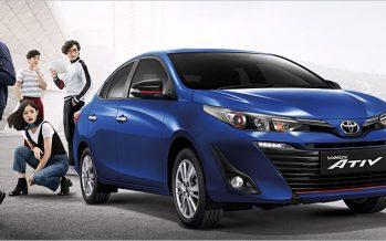 Toyota ประกาศราคามาตรฐาน Yaris Ativ และ Yaris รุ่นปรับโฉม 2560
