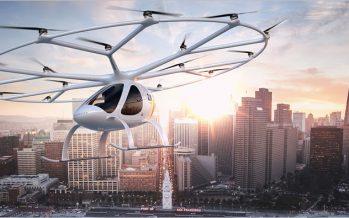 Volocopter บริการแท๊กซี่บินได้ไร้คนขับ ทดลองบินที่ดูไบ