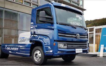 Volkswagen เตรียมเปิดตัวรถบรรทุกไฟฟ้าขนาดกลางและขนาดใหญ่