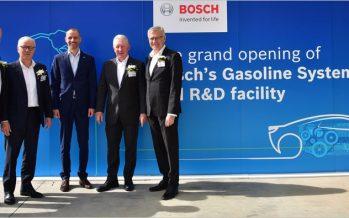 BOSCH เปิดโรงงานผลิตแห่งที่ 3 ในไทยสำหรับผลิตชิ้นส่วนเครื่องยนต์ระบบแก๊สโซลีน