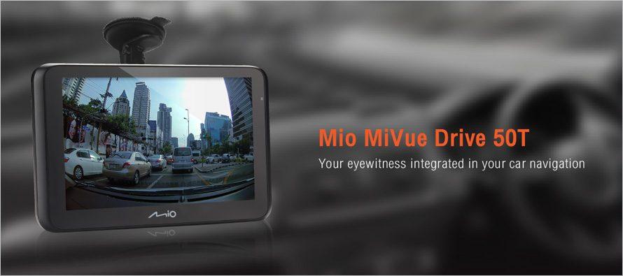 GIS Soft เปิดตัวกล้องติดรถยนต์ Mio MiVue Drive 50T