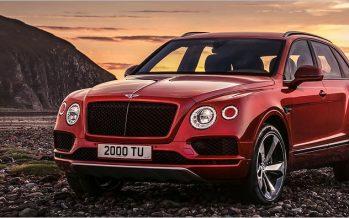 Robb Report ยกให้ Bentley Bentayga เป็นรถ SUV แห่งปี 2017