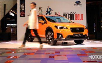 Subaru XV ใหม่ พร้อมให้สัมผัสในงาน Mega Test Drive
