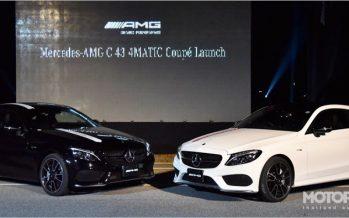 Mercedes-AMG C 43 4MATIC Coupé เปิดตัวรุ่นประกอบไทยเป็นครั้งแรก