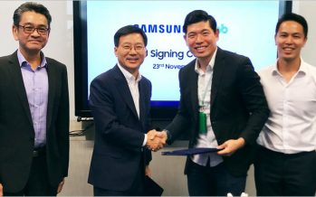 Grab และ Samsung เซ็น MOU พัฒนาโซลูชั่นสำหรับธุรกิจรถยนต์ร่วมโดยสารโดยเฉพาะ