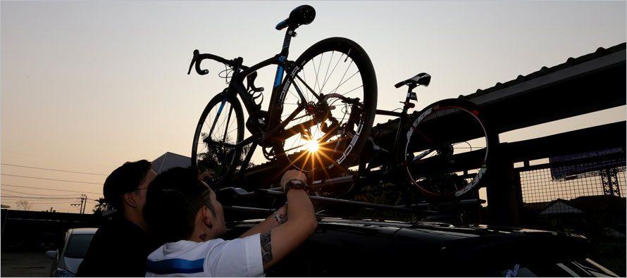 THULE ชวนปั่นชมวิวเนินนางพญา พร้อมทดสอบผลิตภัณฑ์ชุดจับจักรยาน