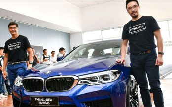 BMW M5 ใหม่ พร้อมจัดแสดงในงาน บางกอก มอเตอร์โชว์ 2018
