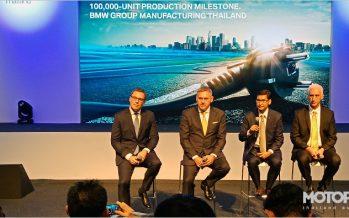 BMW Group ประกาศยอดในไทย 2560 โต 39% พร้อมฉลองประกอบรถทะลุ 1 แสนคัน