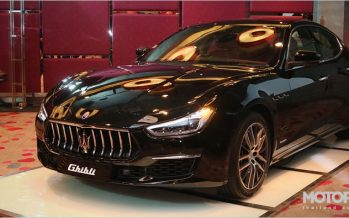 2018 Maserati Ghibli รุ่นปรับโฉมพร้อมเปิดตัวเป็นทางการในมอเตอร์โชว์